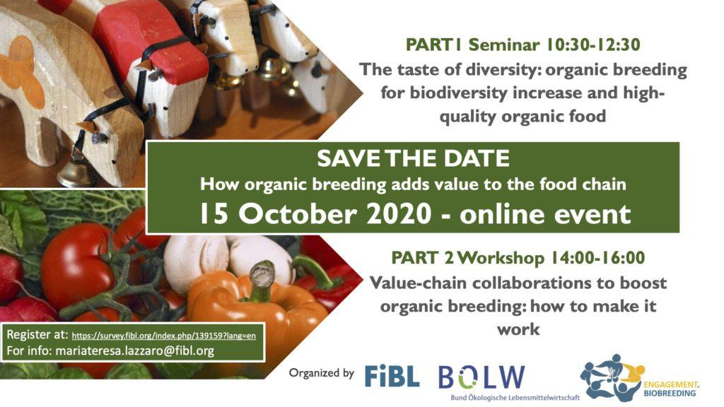 organic breeding biodiversity event fibl