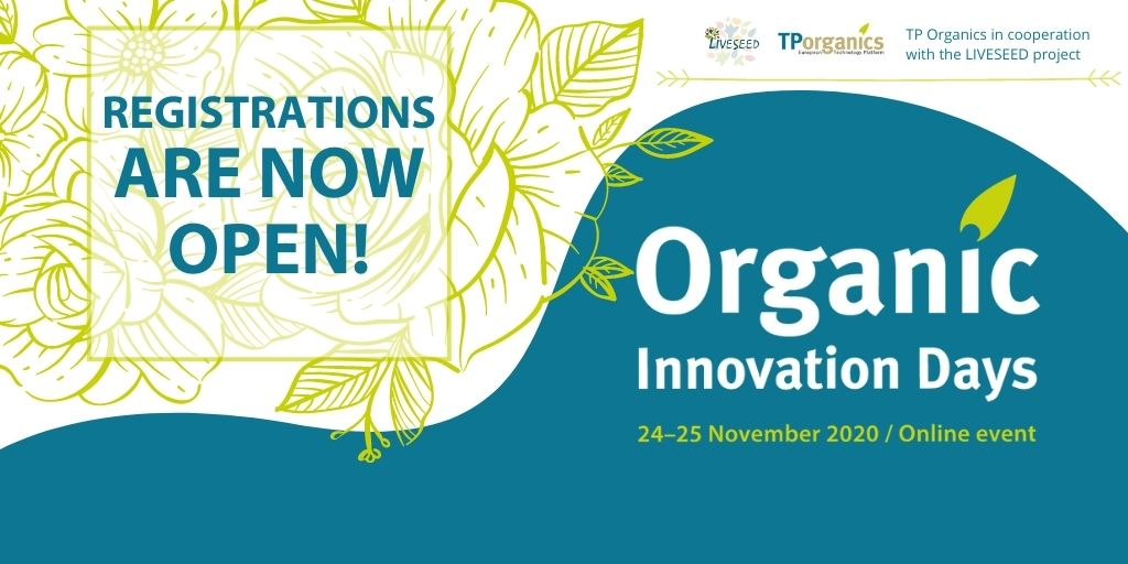 OID2020 LIVESEED events Organic Innovation Days